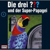 Die drei Fragezeichen Folge 001 und der Super-Papagei