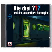 Die drei ??? Fragezeichen - Folge 189: und der Unsichtbare Passagier (CD)