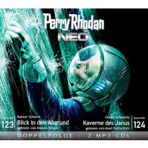 Perry Rhodan Neo MP3 Doppel-CD Episoden 123+124