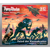 Perry Rhodan Silber Edition 141: Feind der Kosmokraten (2 mp3-CDs)