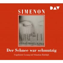Georges Simenon - Der Schnee war schmutzig