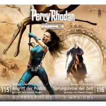 Perry Rhodan Neo MP3 Doppel-CD Episoden 115+116