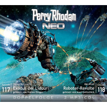 Perry Rhodan Neo MP3 Doppel-CD Episoden 117+118