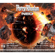 Perry Rhodan Neo MP3 Doppel-CD Episoden 119+120