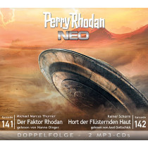 Perry Rhodan Neo MP3 Doppel-CD Episoden 141+142