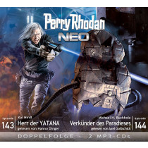 Perry Rhodan Neo MP3 Doppel-CD Episoden 143+144