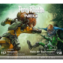 Perry Rhodan Neo MP3 Doppel-CD Episoden 157+158