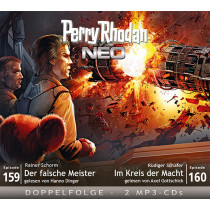 Perry Rhodan Neo MP3 Doppel-CD Episoden 159+160