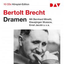 Bertolt Brecht - Dramen: 10 CD Hörspiel-Edition