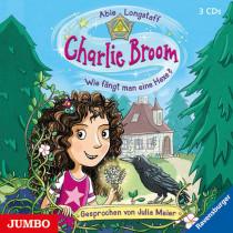 Abie Longstaff - Charlie Broom. Wie fängt man eine Hexe?
