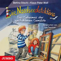 Die Nordseedetektive - Folge 8: Das Geheimnis der gestohlenen Gemälde
