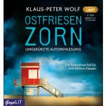 Klaus-Peter Wolf - Ostfriesenzorn (Ungekürzte Autorenlesung)