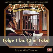 Sherlock Holmes (Titania) - Folge 1 bis 43 im Paket