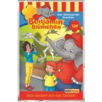 Benjamin Blümchen - Folge 139: Der Dinosaurierknochen (MC)