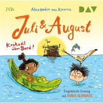 Alexander von Knorre - Juli und August – Krokodil über Bord!
