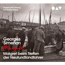 Georges Simenon - Maigret beim Treffen der Neufundlandfahrer