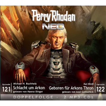 Perry Rhodan Neo MP3 Doppel-CD Episoden 121+122