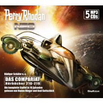 Perry Rhodan Neo MP3-CD Episoden 210-219 (5 CD-Box)