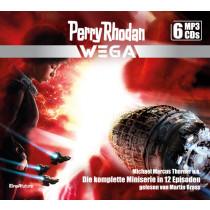 Perry Rhodan Wega – Die komplette Miniserie (6 mp3-CDs)