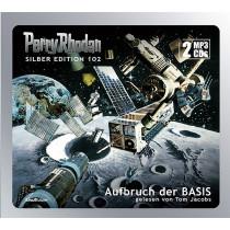 Perry Rhodan Silber Edition 102 Aufbruch der BASIS (2 mp3-CDs)