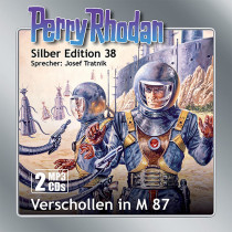 Perry Rhodan Silber Edition 38: Verschollen in M 87 (2 MP3-CDs)