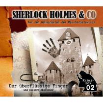Sherlock Holmes und Co. Krimi-Box 2: Folgen 4-6