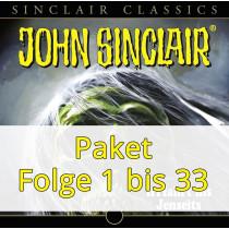 John Sinclair Classics - Paket - Folge 1 bis 33