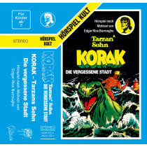 Tarzan - Folge 9: Korak - Die vergessene Stadt (MC)