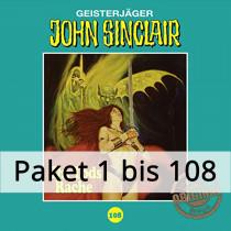 John Sinclair Tonstudio Braun - Paket - Folge 1 bis 108