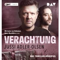 Jussi Adler-Olsen - Verachtung: Carl Mørck, Sonderdezernat Q, Fall 4 (Hörspiel)