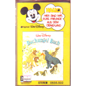 MC Disneyland Hallo Freunde Dschungel Buch