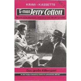MC TSB Jerry Cotton Romancover Das Große Killerspiel 2