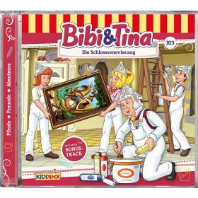 Bibi und Tina - Folge 103: Die Schlossrenovierung (CD)