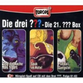 Die drei Fragezeichen Fan Box die 21. Folgen 61 - 63