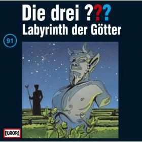 Die drei Fragezeichen Folge 091 Labyrinth der Götter