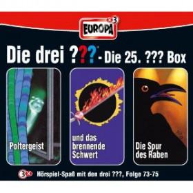 Die drei Fragezeichen Fan Box die 25. Folgen 73 - 75
