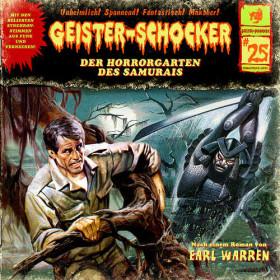 Geister-Schocker 25 Der Horrorgarten des Samurais