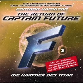 Captain Future 03 - Die Harfner des Titan