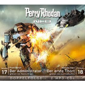 Perry Rhodan Neo MP3 Doppel-CD Folgen 17+18