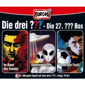 Die drei Fragezeichen Fan Box die 27. Folgen 79 - 81