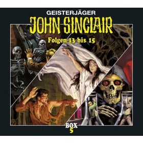 John Sinclair - Box 5 - Folge 13 bis 15