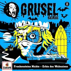 Gruselserie - Folge 8: Frankensteins Nichte - Erbin des Wahnsinns (CD)