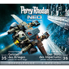 Perry Rhodan Neo MP3 Doppel-CD Folgen 35+36