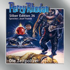 Perry Rhodan Silber Edition Nr. 36 Die Zeitpolizei