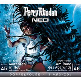 Perry Rhodan Neo MP3 Doppel-CD Folgen 45+46