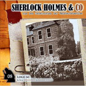 Sherlock Holmes und Co. 08 - Loge 341