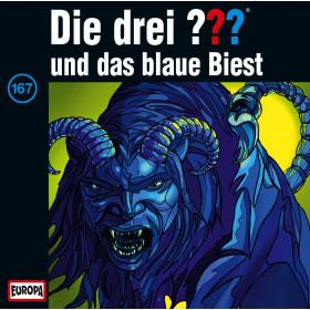 Die drei Fragezeichen Folge 167 und das blaue Biest