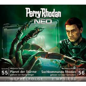 Perry Rhodan Neo MP3 Doppel-CD Folgen 55+56