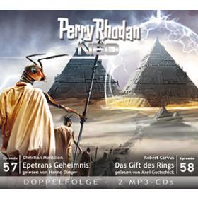Perry Rhodan Neo MP3 Doppel-CD Folgen 57+58