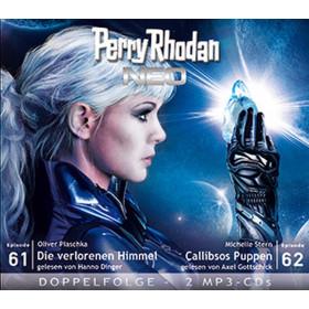 Perry Rhodan Neo MP3 Doppel-CD Folgen 61+62